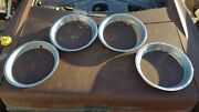 Beauty Ring Hub Caps Hubcap Wheel Rim Cover 1949-1975 Ford Chevy Dodge Truck