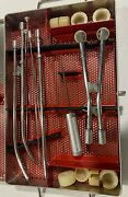 3m Radiation Oncology Cesium Insertion Set Complete With Case
