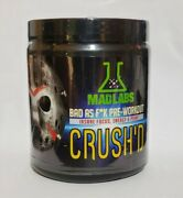 Hard To Find Crushand039d By Mad Labs Extreme Pre-workout - Rage War Labz