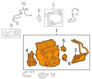 For Toyota Genuine Hvac Unit Case Assembly Front 870500c030