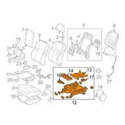 For Toyota Genuine Seat Track Front Right 7111007110