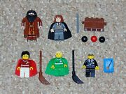 Lego Harry Potter Lot Of 5 Minifigures From Sets 4754 4726 Hermione Hagrid More
