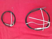 Harley Davidson 04 Fatboy Clutch Brake And Throttle Cables And Hoses