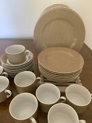 Fitz And Floyd Andldquofoulardandrdquo Dishes Dinner Salad Cup And Saucer