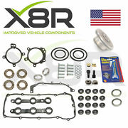 Bmw 3 Series E46 98-05 Double Twin Dual Vanos Seals Repair Set Kit With Gaskets