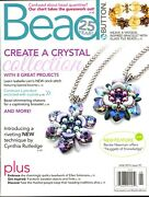 Bead And Button Magazine June 2019 Issue 151 Create A Crystal Collection