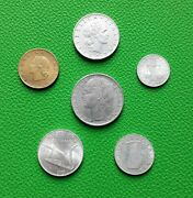 Coins Italy 1954-1958