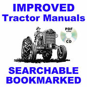 Ford 600 800 Tractor Service Parts Catalog Owners Manual Manuals 1953-1964 Set