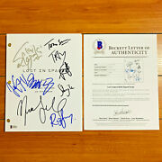 Lost In Space Signed Full 72 Page Pilot Script By 7 Cast Members W/ Beckett Coa