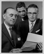 1959 St Paul Notre Dame Officers Getting Ready For Party Press Photo