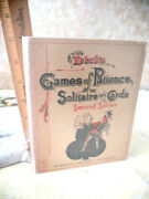 Dickand039s Games Of Patience Or Solitaire With Cards1898harris B. Dickillust