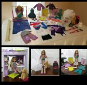 American Girl Doll Mckenna Goty 2012 Retired Collection Huge Lot Plus Loft Bed