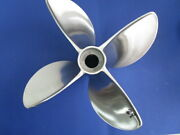 15 X 28 Et Eagle Signature Propeller For V-6 Outboard