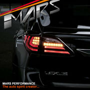 Red 3d Led Tail Light And Sequential Indicators For Lexus Rx270 Rx350 Rh450h 09-15