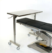 New Mcm-535 Height Adjustable Stainless Steel Straddle Table 24w X 60l