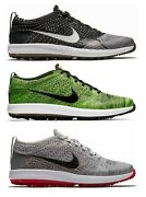 New Nike Flyknit Racer G Menand039s Golf Shoes Color Size 909756