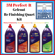 3m Perfect - It Gelcoat Re Finishing Quart Kit 36110 36113 36106 And 36102