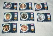 Star Wars Tazos Force Promo Card Set Of 8 Complete Chase Set 1996 British Cards