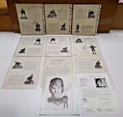 1930 Nat Champion Notre Dame Signed Yearbook Pages 35 Autographs Full Jsa Letter