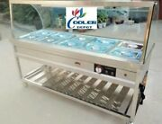 New 72 Warmer Steam Table Buffet Car Warm Food Server 10 Compartment Model C10