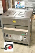 New 25l Deep Propane Fryer W/ Thermostat Or Natural Gas