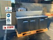 New 72 Commercial Refrigerator Model Xsp72 Sandwich Salad Pizza Prep Table Nsf