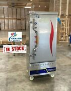 New 12 Pan Commercial Gas Steam Warmer Cabinet Seafood Cooker Lp Propane W/ Pans