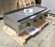 New 48 Commercial Radiant Broiler Char Grill Shawarma Restaurant Nsf Cd-rb48andnbsp