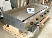 Nsf 60 Ins Gas Heavy Duty Griddle Cd-mg60 Gas Griddle Flat Topandnbspnew