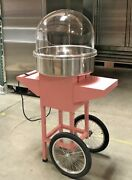 New Stylish Classic Cotton Candy Machine Cart Commercial Party Rental Carnival