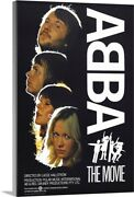 Abba The Movie - Vintage Movie Poster Canvas Wall Art Print, Music Home Decor