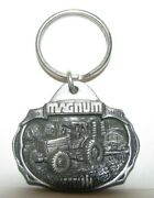 Case Ih 7140 Magnum 7100 Series Tractor 1988 Introduction Pewter Key Chain Cih