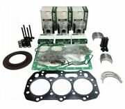 Engine Overhaul Rebuild Kit For Ford Nh Tractor Tc30 Tc33 Tc33d - .50mm