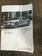 2012 Audi A8 Owners Manual