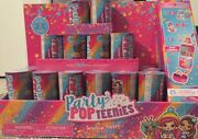 Party Popteenies Surprise Popper Lot Of 18 With Display Box