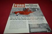 Ford Tractor 505 Rotary Hay Cutter Dealers Brochure Amil15