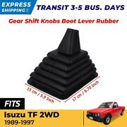 Gear Shift Knob Boot Lever Rubber Dust Cover Made For Isuzu Tfr 2wd 1989-1997