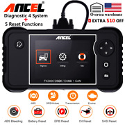 Obd2 Auto Scanner Abs Srs Airbag Diagnostic Car Sas Bms Oil Epb Reset Scan Tool