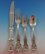 Francis I Reed And Barton Sterling Silver Flatware Service For 4 Set 16 Pieces