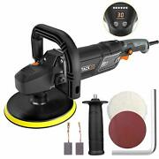 Polishertacklife 7-inch 12.5amp 1500w Variable Speed Polisherwith Digital Scre
