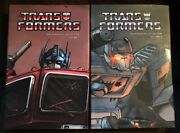 Rare Transformers Premiere Collection Volume 1 And 2 Hardcover Oop Free Shipping