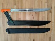 Angelswords Bright Knights Chines Dao Sword Leather And Okuden Kydex Scabbards
