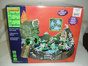 Retired Lemax Spooky Town Skull River New In Box Rare Find Item 24469