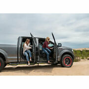 N-fab 3 Round Nerf Bar System W/bed Step Txtr For F250/350 Sd 17-19 Cc 6.8' Bed