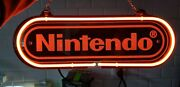 New Nintendo Neon Light Sign 14 Beer Cave Gift Lamp Bar Game Room