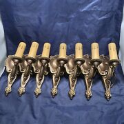 7 Seven Antique Wall Sconce Fixtures Riddle Co 3c
