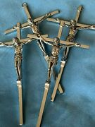 Crucifix Cross Wholesale Lot Of 10 Made In Italy Silver 9x5 Religious Gift New
