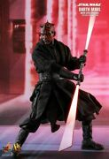 Hot Toys 16 Dx17 Star Wars Darth Maul And Sith Speeder Action Figure Collectible