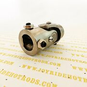 Hot Rod Steering Universal Joint U/j 1-dd X 3/4-dd Polished Stainless Steel
