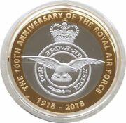 2018 Royal Mint Royal Air Force Piedfort £2 Two Pound Silver Proof Coin Box Coa
